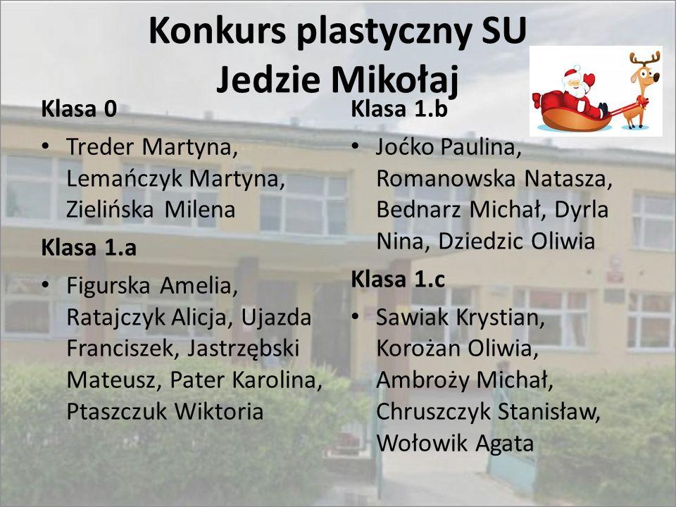 Konkurs plastyczny SU Jedzie Mikołaj