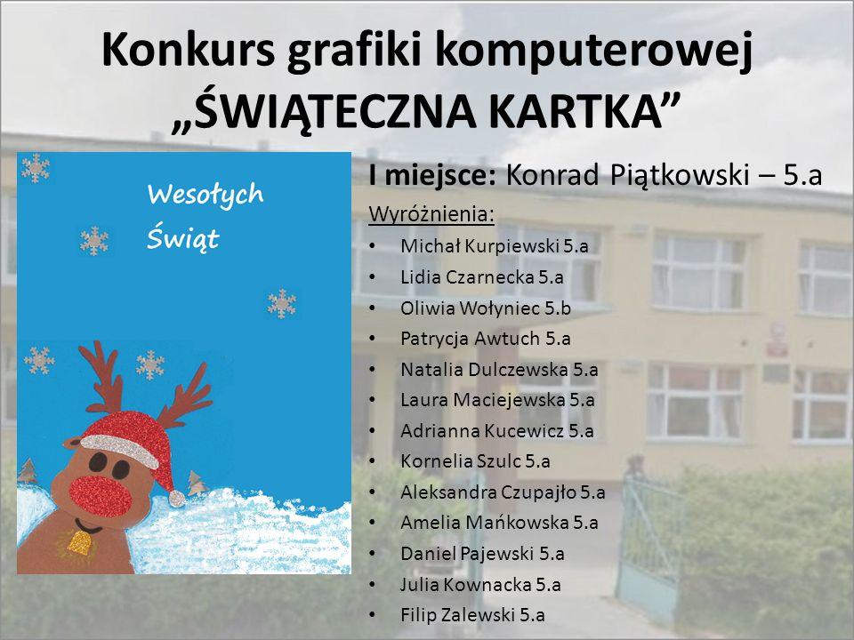 """Konkurs grafiki komputerowej """"ŚWIĄTECZNA KARTKA"""