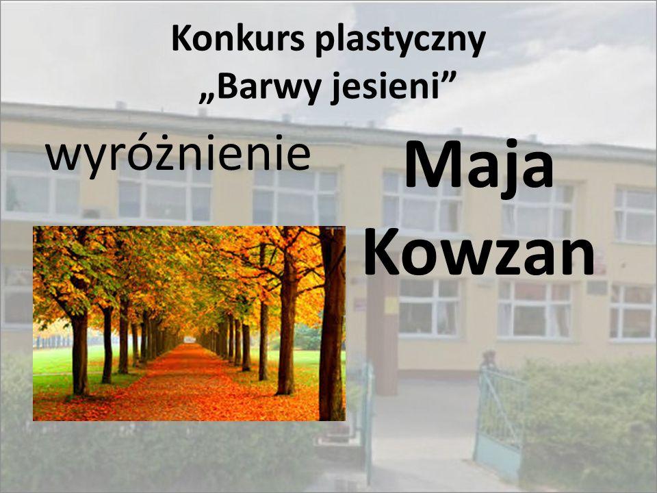 """Konkurs plastyczny """"Barwy jesieni"""