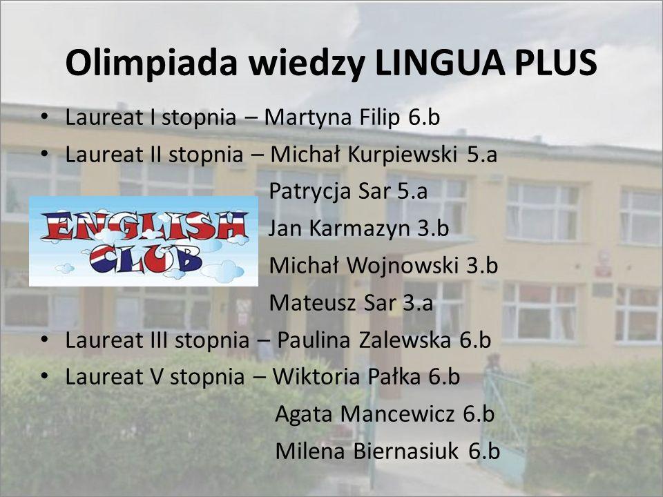 Olimpiada wiedzy LINGUA PLUS