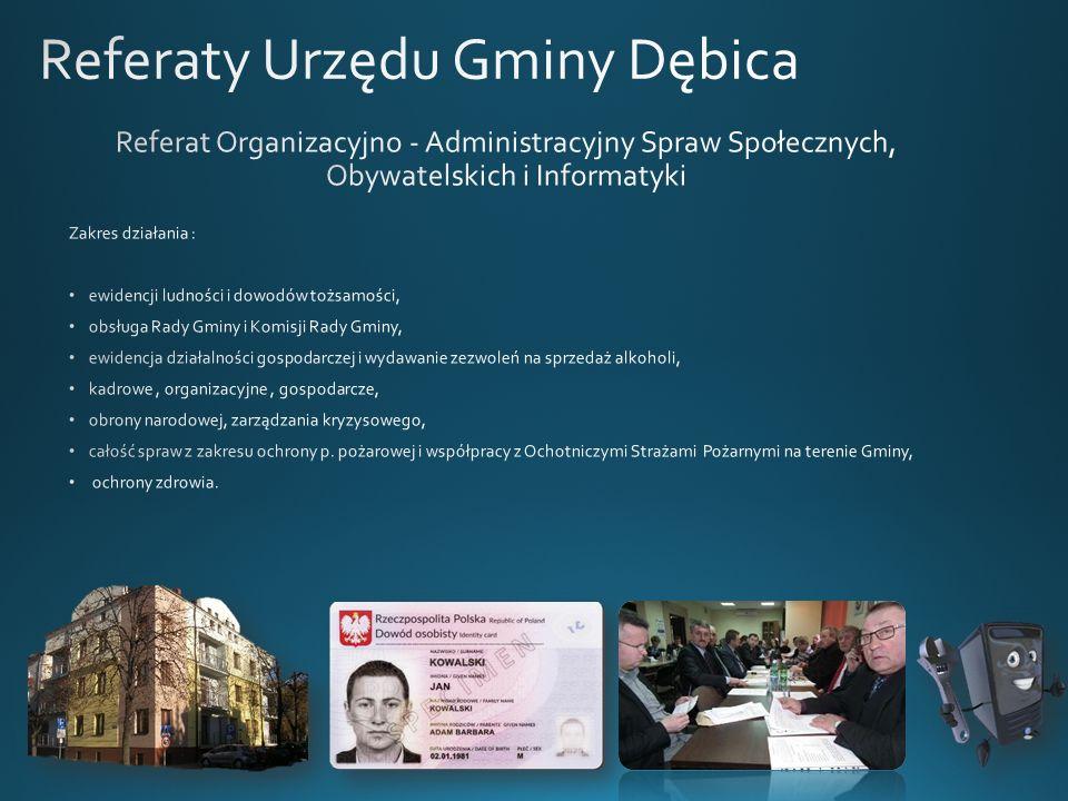 Referaty Urzędu Gminy Dębica