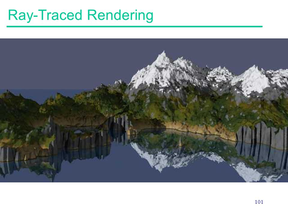 Ray-Traced Rendering