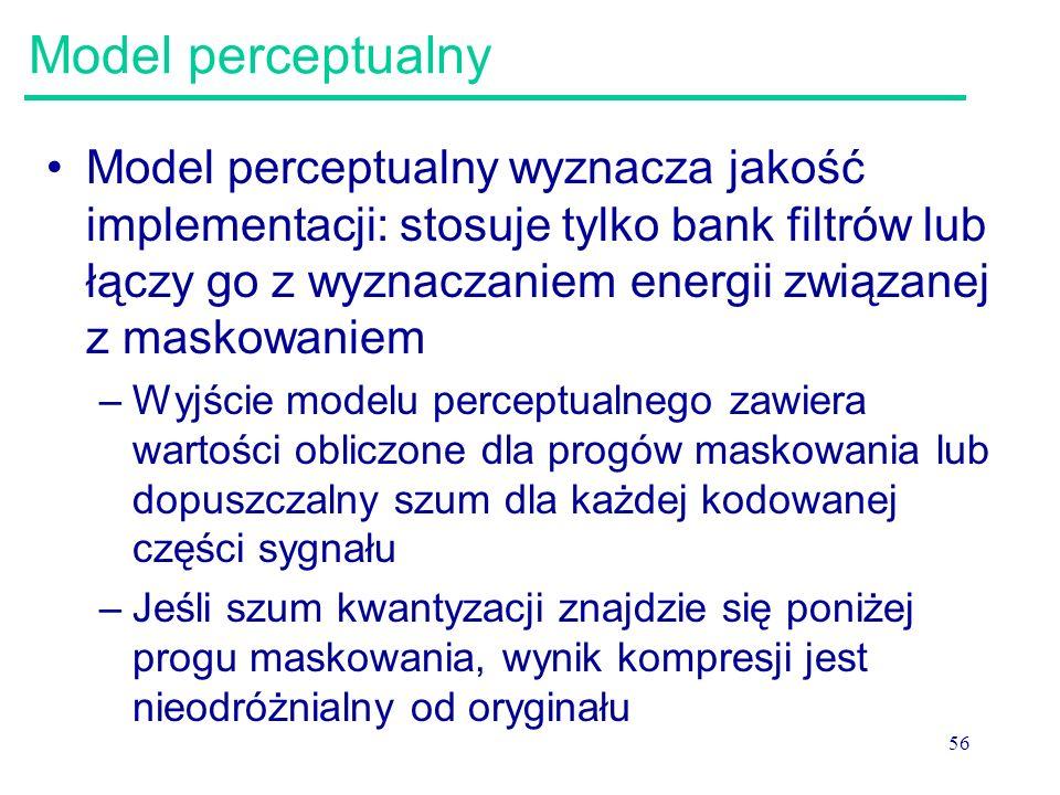 Model perceptualny