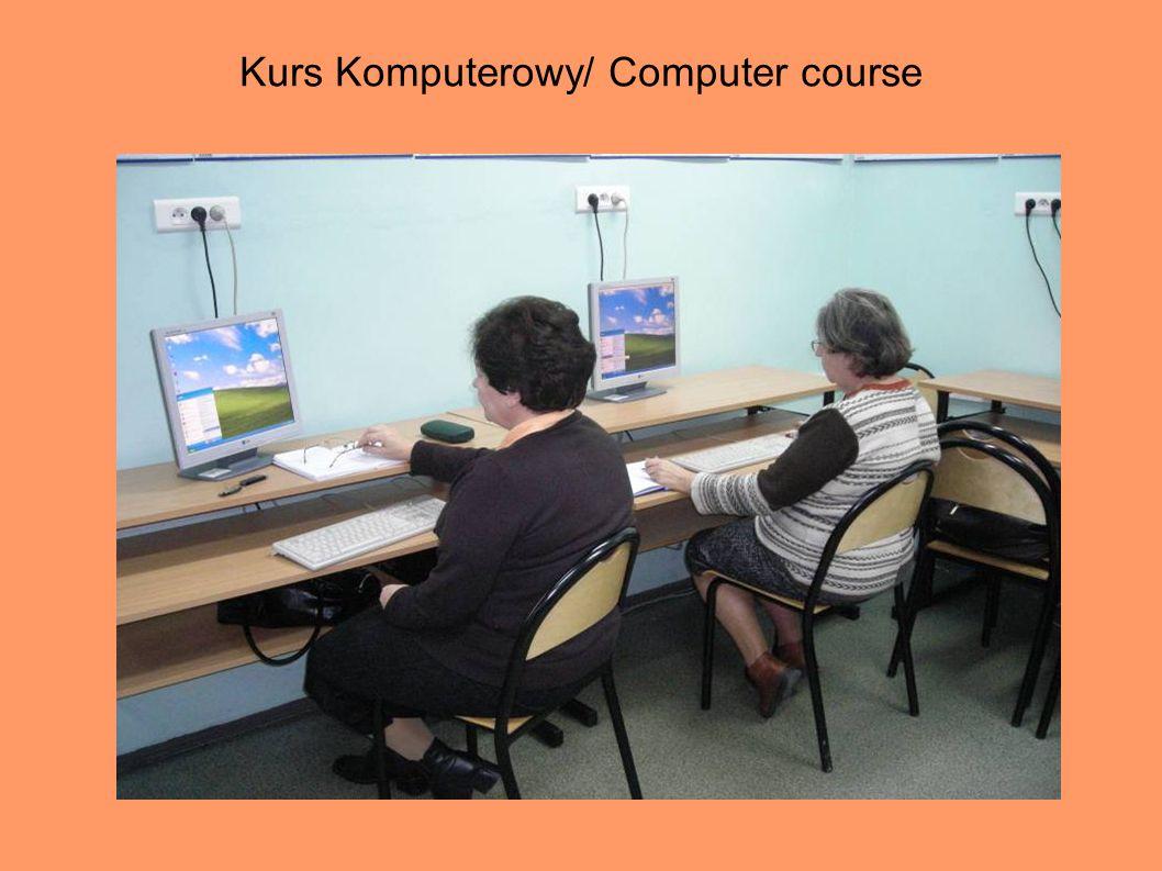 Kurs Komputerowy/ Computer course