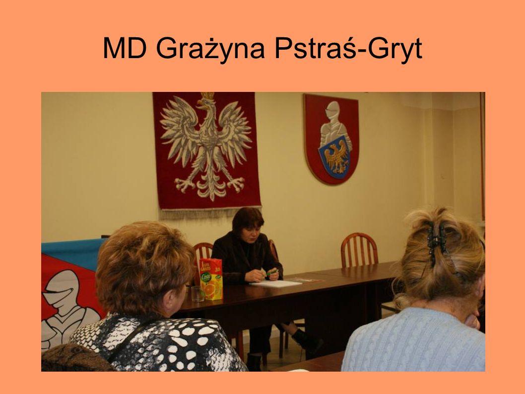 MD Grażyna Pstraś-Gryt