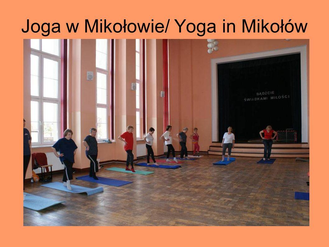 Joga w Mikołowie/ Yoga in Mikołów
