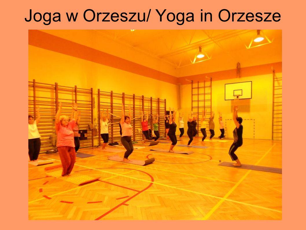 Joga w Orzeszu/ Yoga in Orzesze
