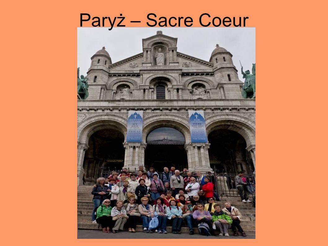 Paryż – Sacre Coeur