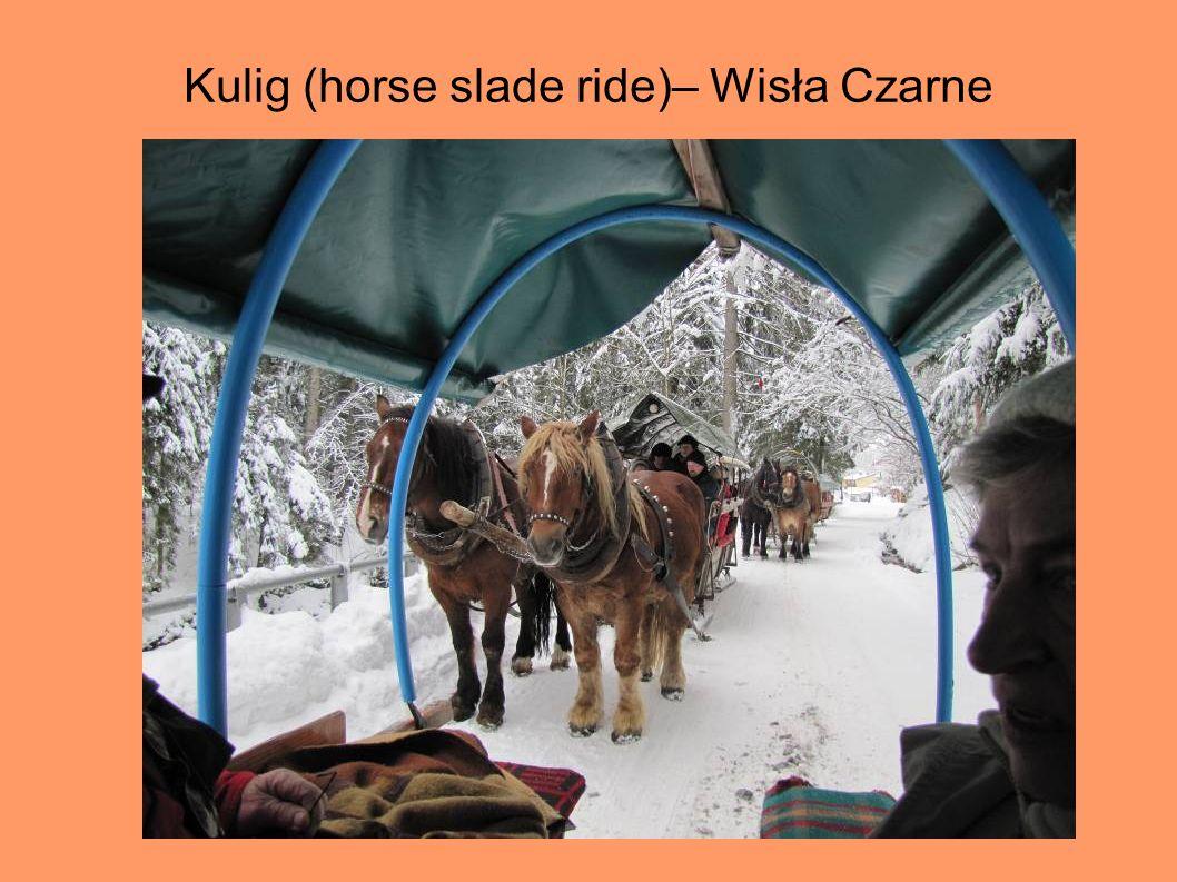 Kulig (horse slade ride)– Wisła Czarne