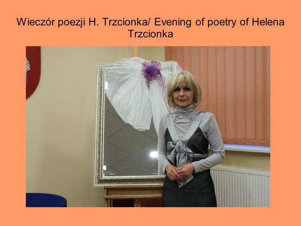 Wieczór poezji H. Trzcionka/ Evening of poetry of Helena Trzcionka