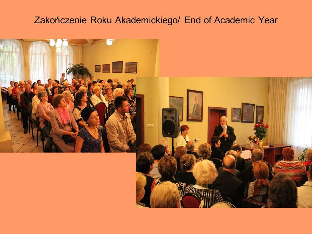 Zakończenie Roku Akademickiego/ End of Academic Year