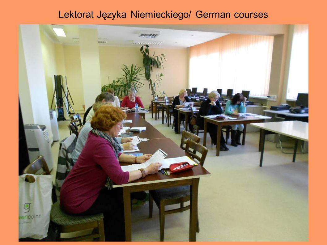 Lektorat Języka Niemieckiego/ German courses