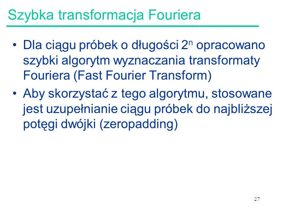 Szybka transformacja Fouriera