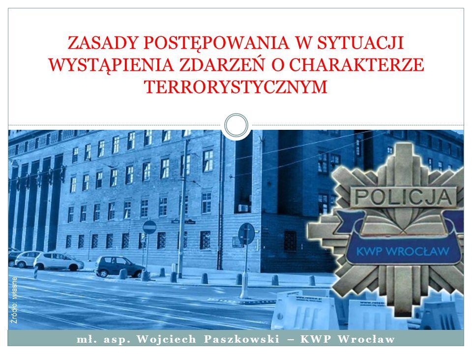 mł. asp. Wojciech Paszkowski – KWP Wrocław