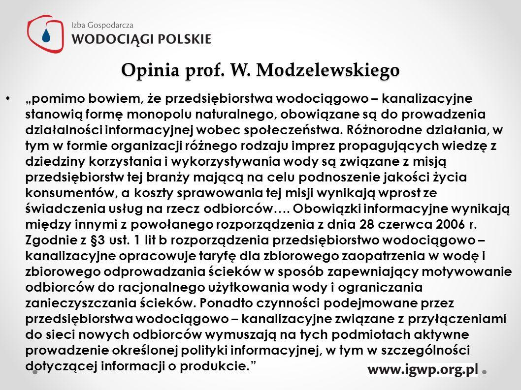 Opinia prof. W. Modzelewskiego