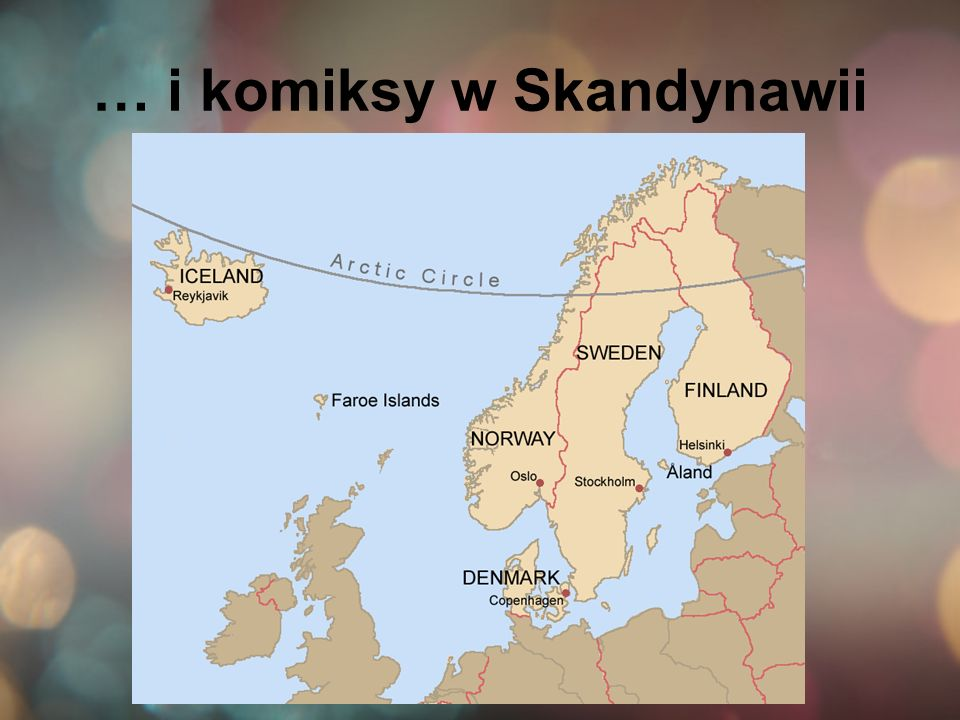 … i komiksy w Skandynawii