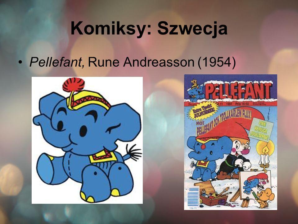 Komiksy: Szwecja Pellefant, Rune Andreasson (1954)