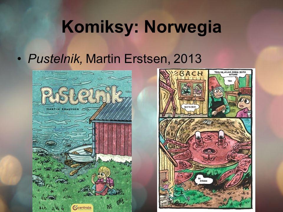 Komiksy: Norwegia Pustelnik, Martin Erstsen, 2013