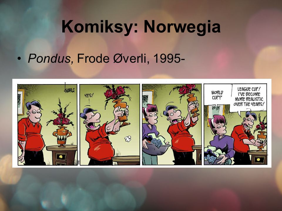 Komiksy: Norwegia Pondus, Frode Øverli, 1995-