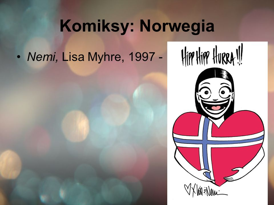 Komiksy: Norwegia Nemi, Lisa Myhre, 1997 -