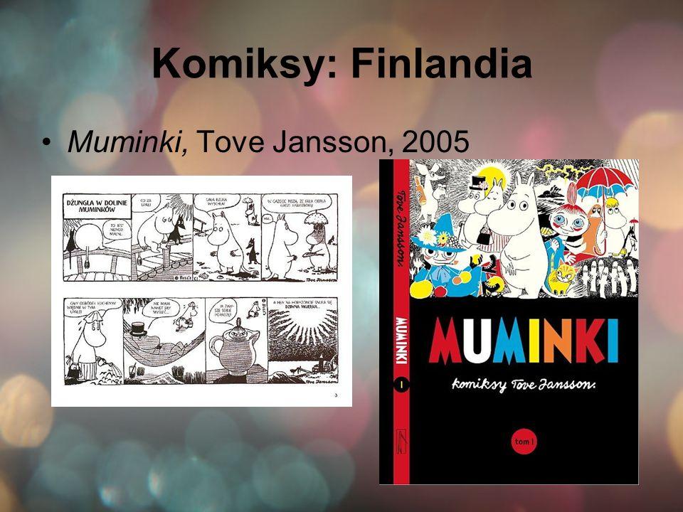 Komiksy: Finlandia Muminki, Tove Jansson, 2005