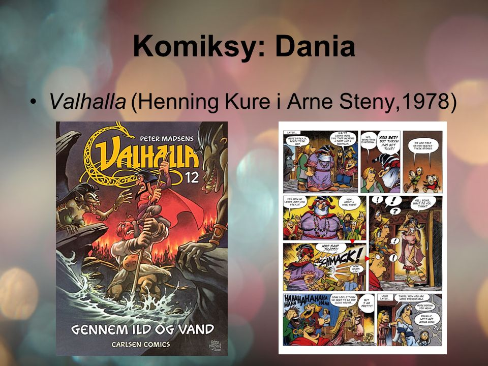 Komiksy: Dania Valhalla (Henning Kure i Arne Steny,1978)