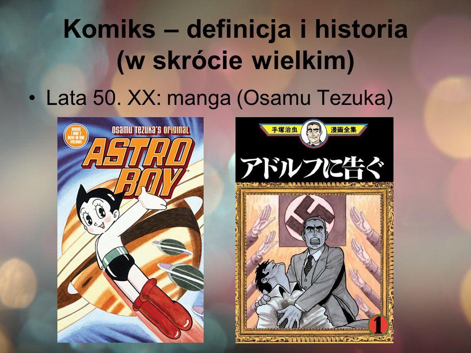 Komiks – definicja i historia (w skrócie wielkim)