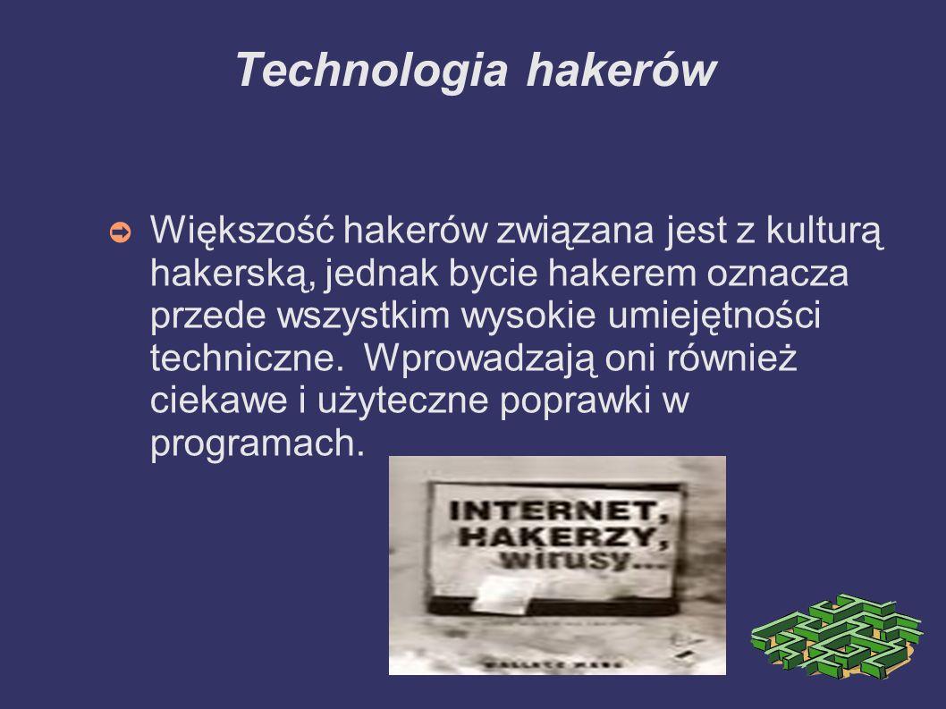 Technologia hakerów