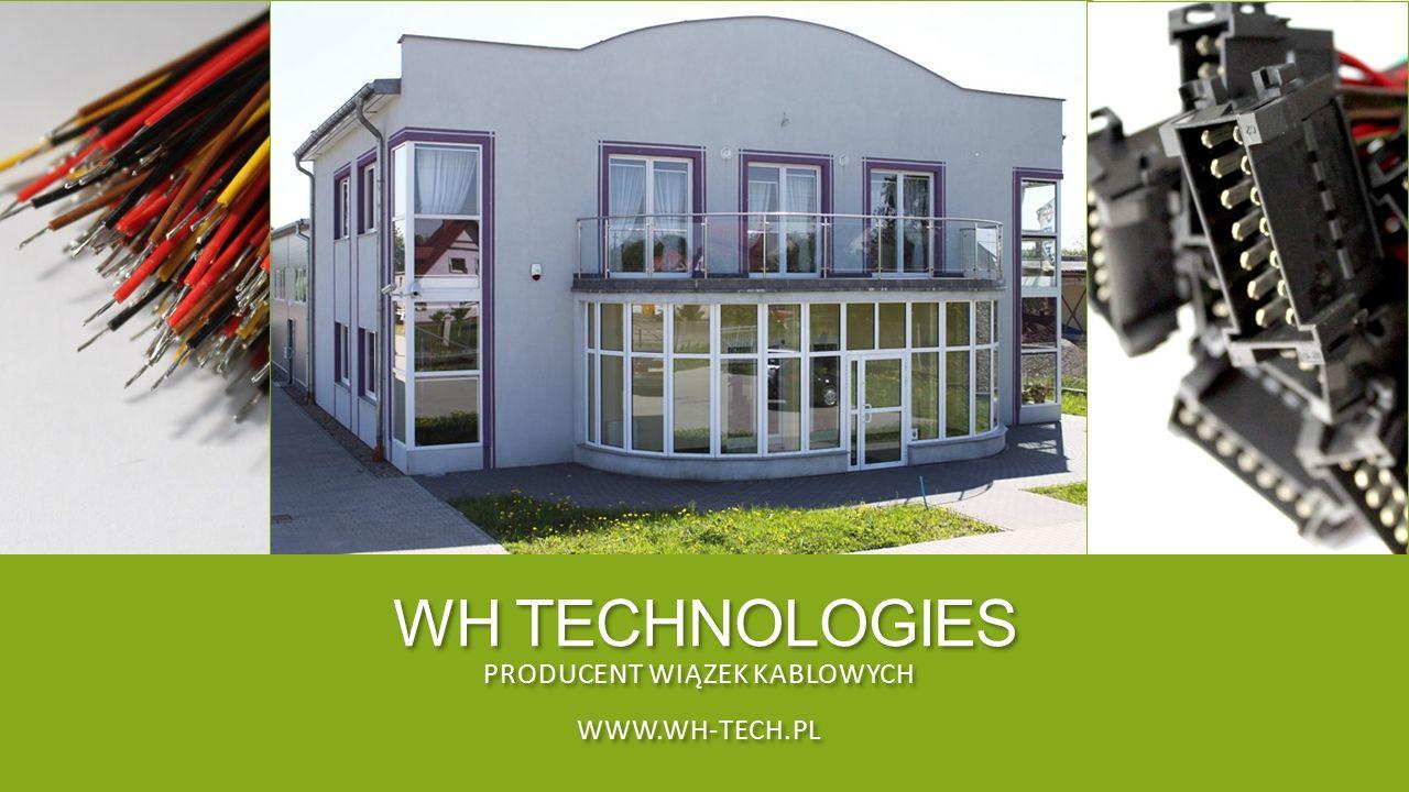 PRODUCENT WIĄZEK KABLOWYCH www.wh-tech.pl