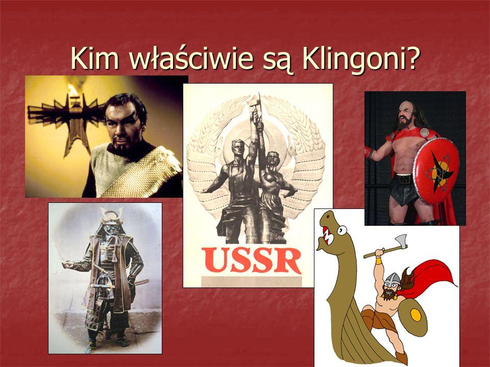 Kim właściwie są Klingoni
