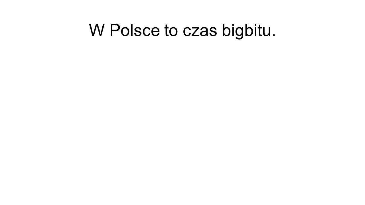 W Polsce to czas bigbitu.