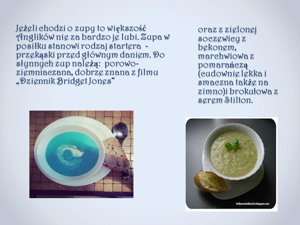 oraz z zielonej soczewicy z bekonem, marchwiowa z pomarańczą (cudownie lekka i smaczna także na zimno)i brokułowa z serem Stilton.