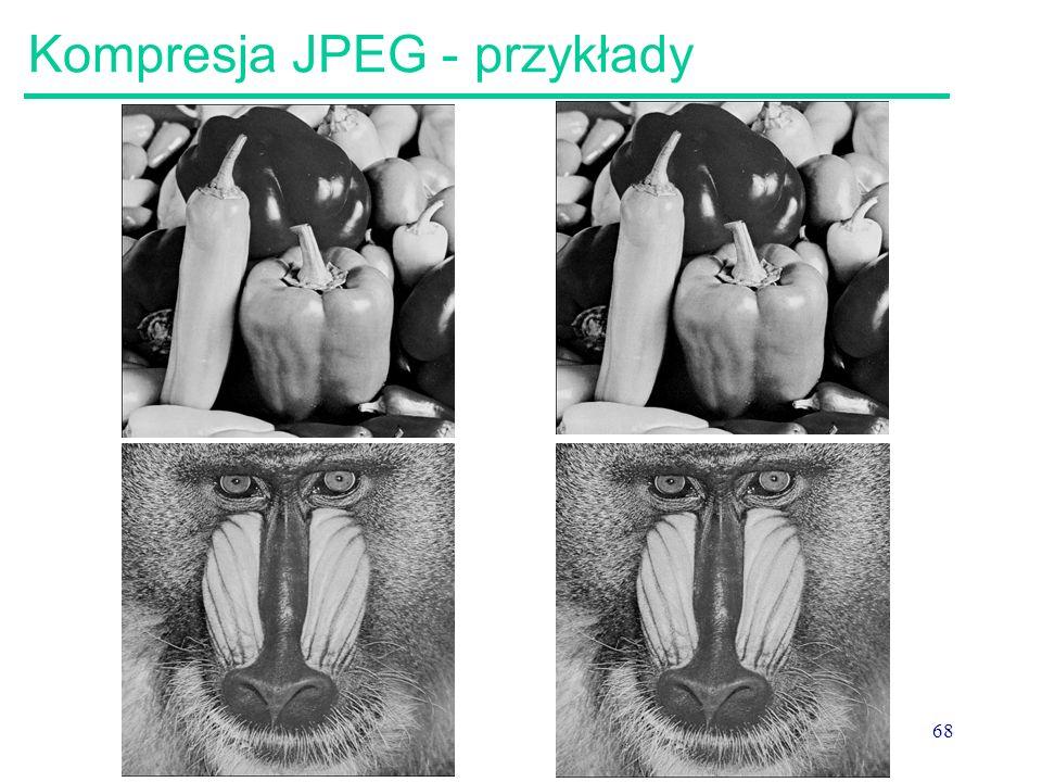 Kompresja JPEG - przykłady