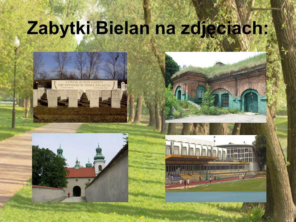Zabytki Bielan na zdjęciach: