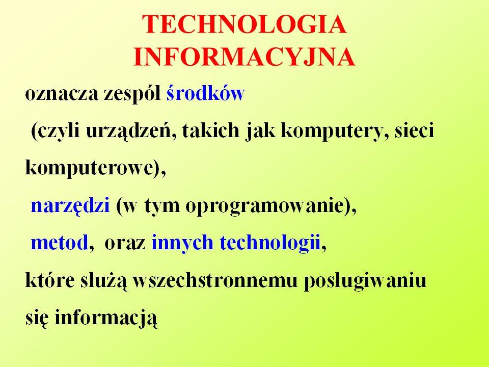TECHNOLOGIA INFORMACYJNA
