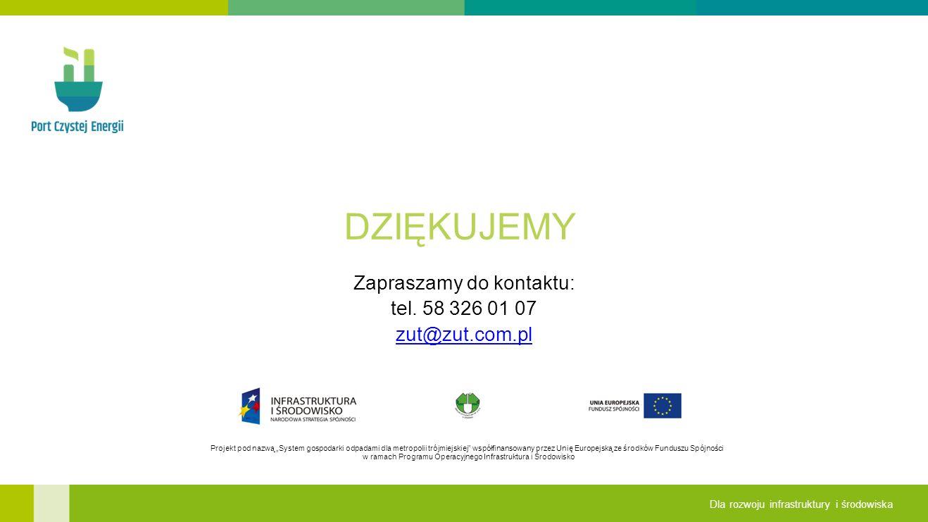 Zapraszamy do kontaktu: tel. 58 326 01 07 zut@zut.com.pl