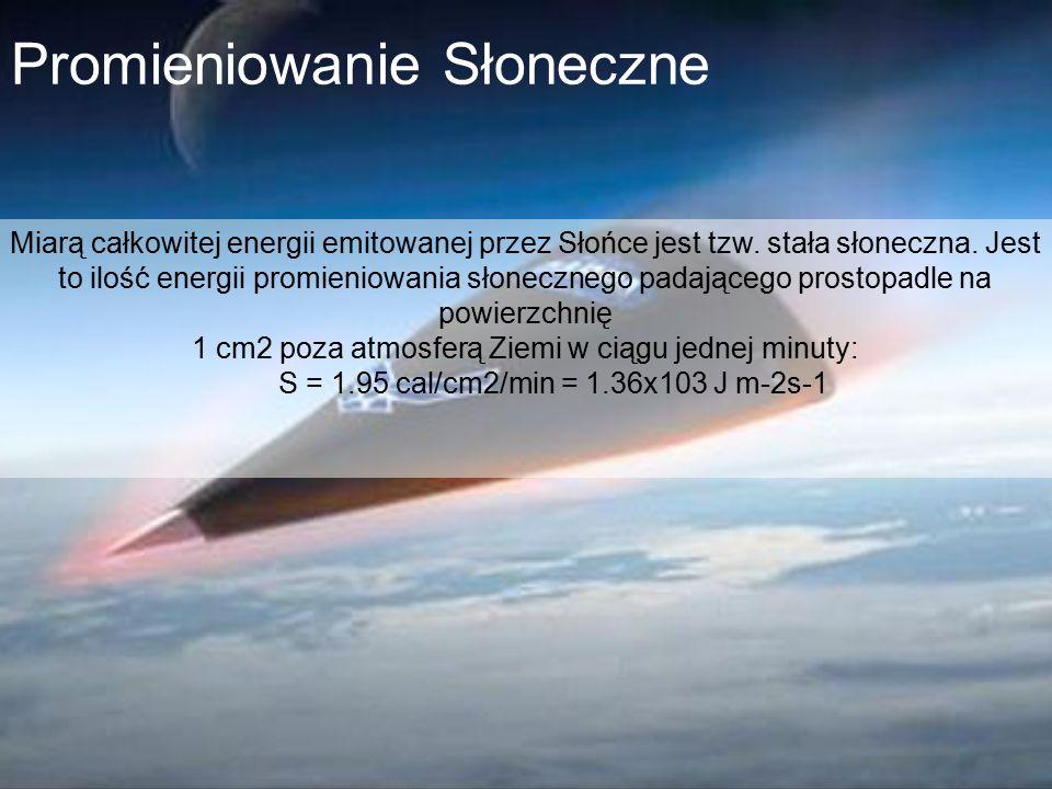 1 cm2 poza atmosferą Ziemi w ciągu jednej minuty:
