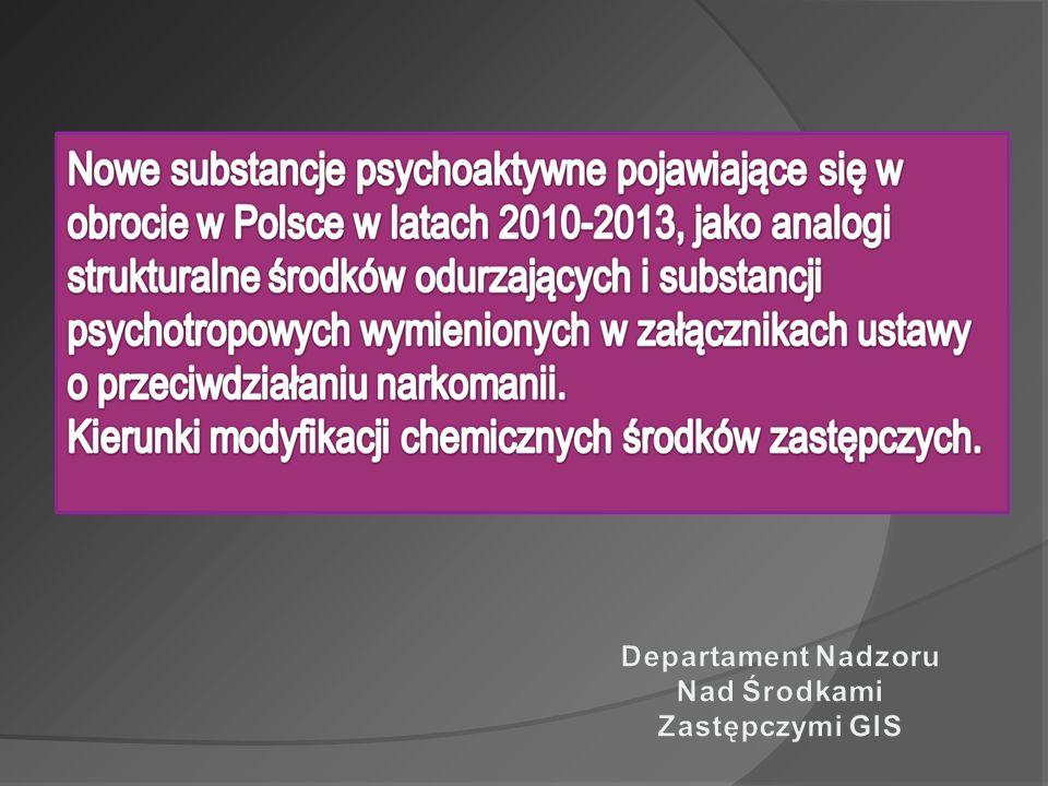 Departament Nadzoru Nad Środkami Zastępczymi GIS