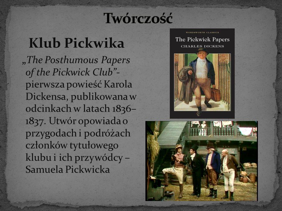 Twórczość Klub Pickwika