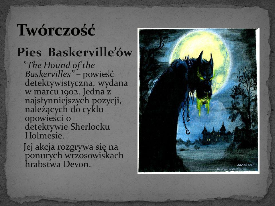 Twórczość Pies Baskerville'ów