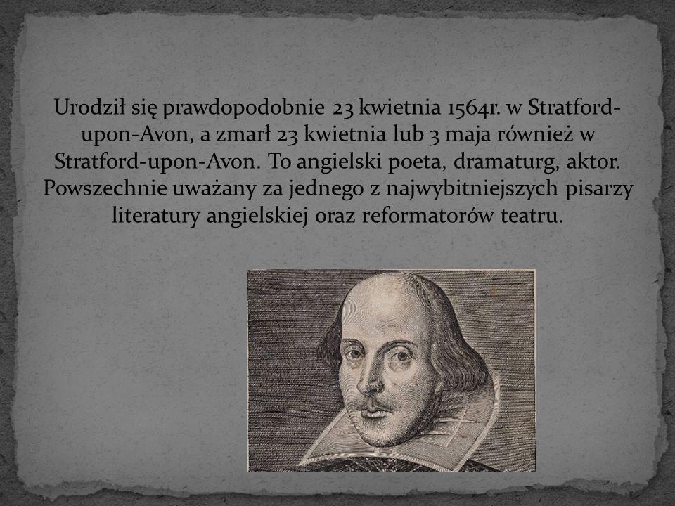 Urodził się prawdopodobnie 23 kwietnia 1564r