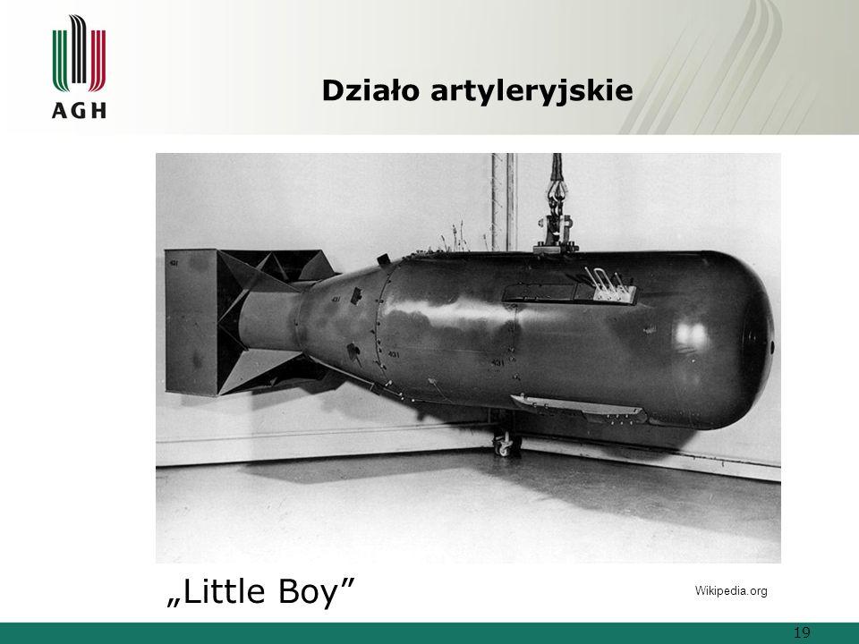 """Działo artyleryjskie """"Little Boy Wikipedia.org"""