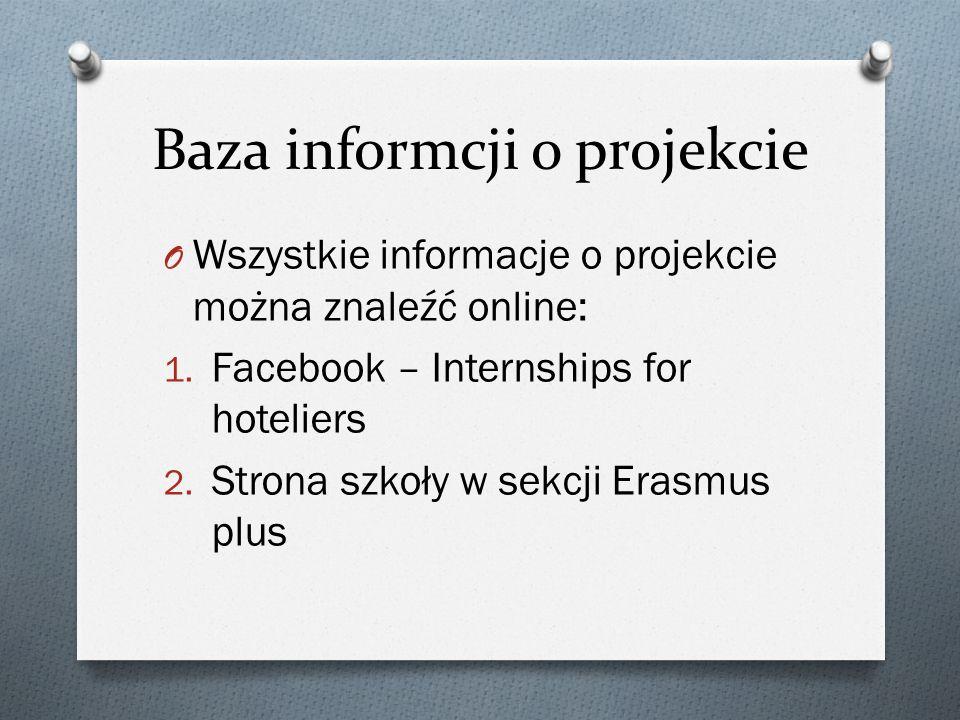 Baza informcji o projekcie