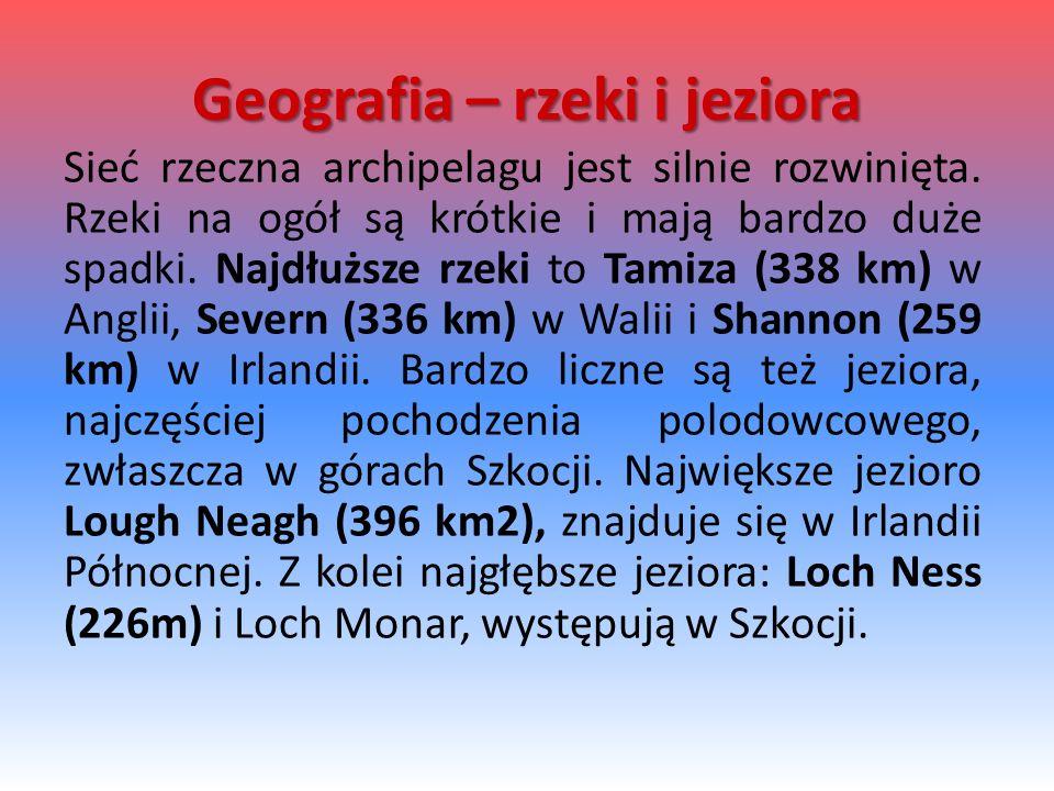 Geografia – rzeki i jeziora