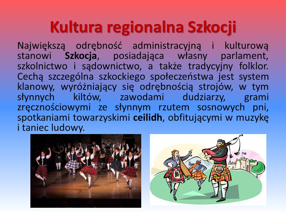 Kultura regionalna Szkocji