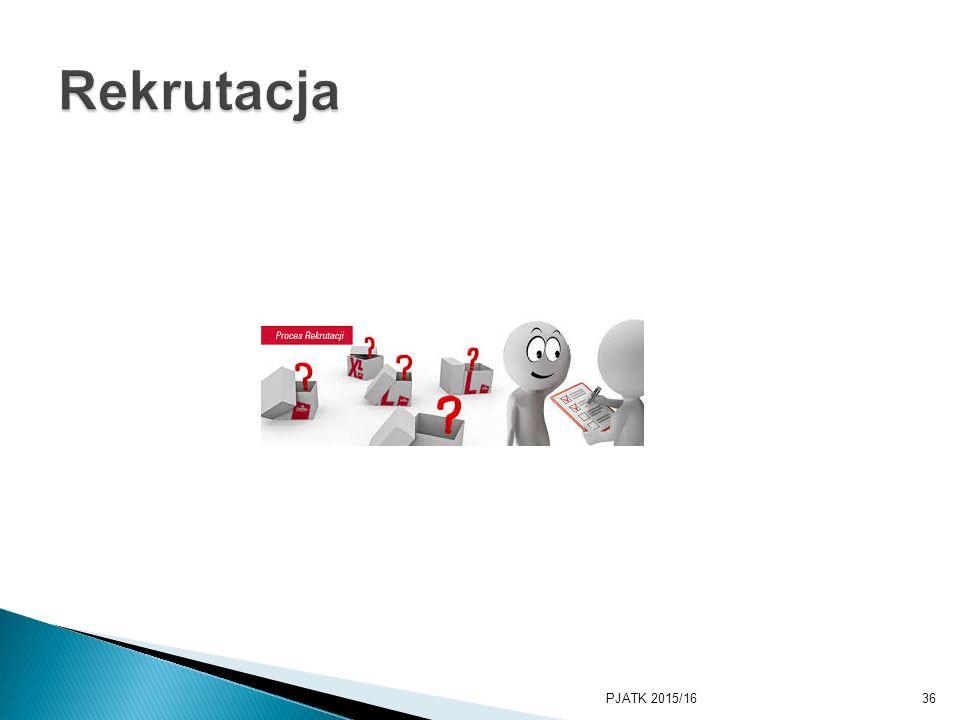 PKWSTK 2008/2009 Rekrutacja PJATK 2015/16