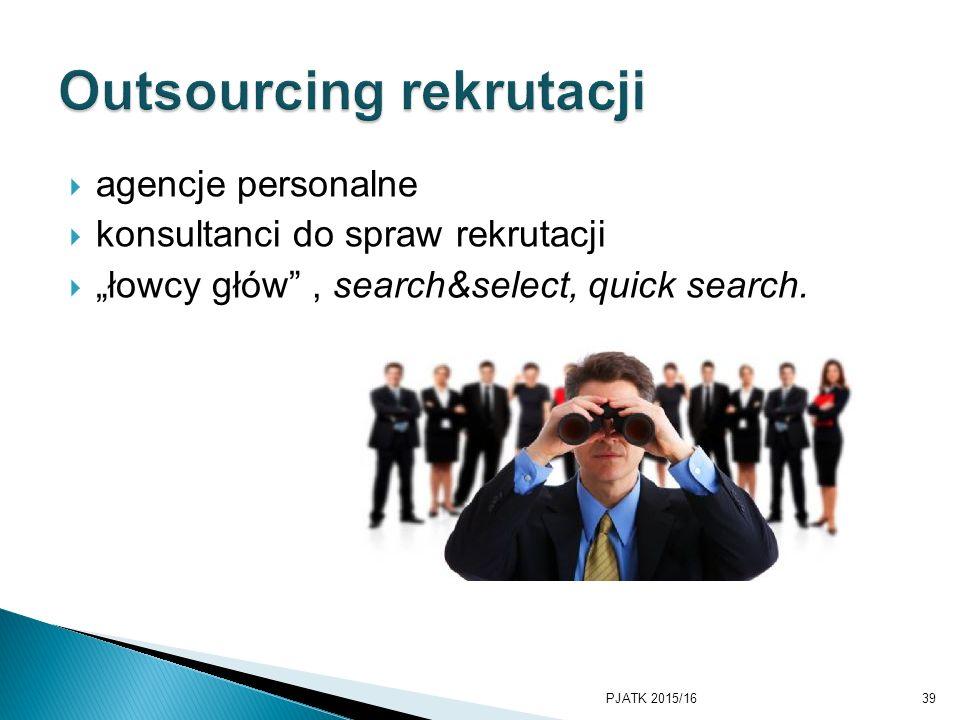 Outsourcing rekrutacji