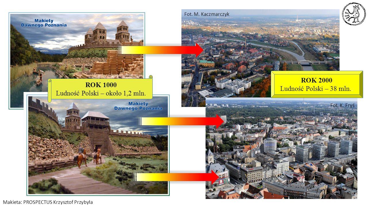 Ludność Polski – około 1,2 mln.