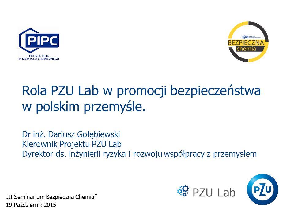 """""""II Seminarium Bezpieczna Chemia 19 Październik 2015"""