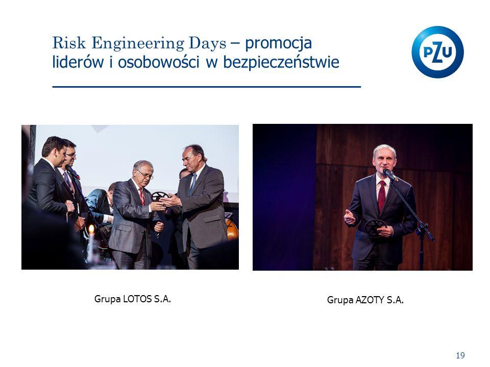 Risk Engineering Days – promocja liderów i osobowości w bezpieczeństwie